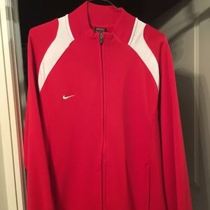 Nike Long Sleeve Athletic Track Jacket